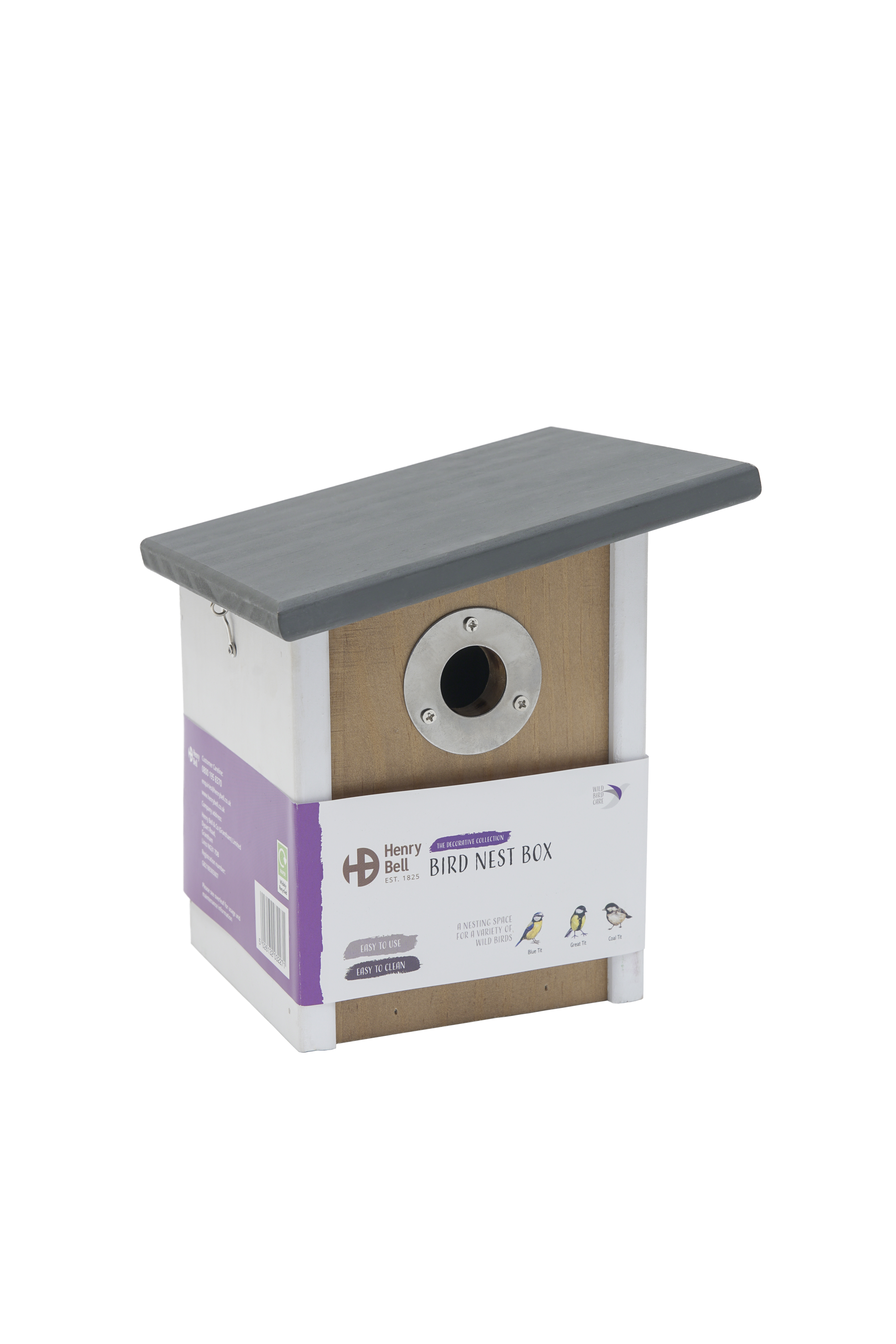 Nest Box Elegance Sloping Roof