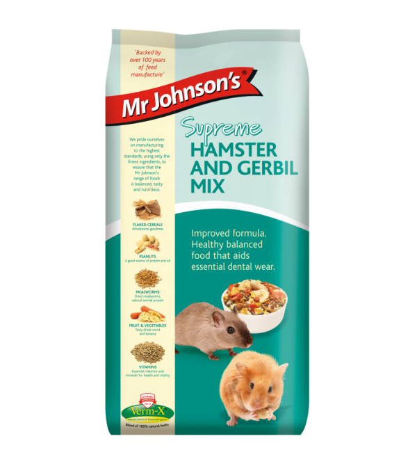 Mr Johnson's Supreme HAMSTER & GERBIL MIX 900gr
