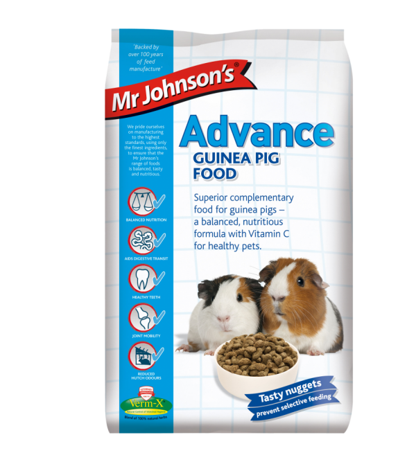 Mr Johnson's Advance GUINEA PIG FOOD 3kg