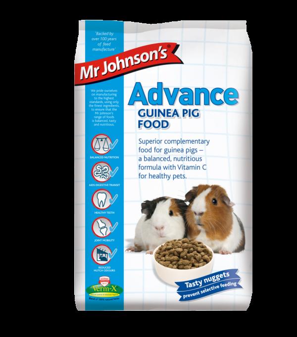 Mr Johnson's Advance GUINEA PIG FOOD 3kg