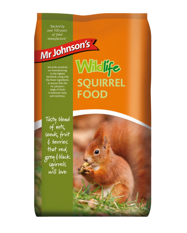 Mr Johnson's Wildlife SQUIRREL FOOD 900gr