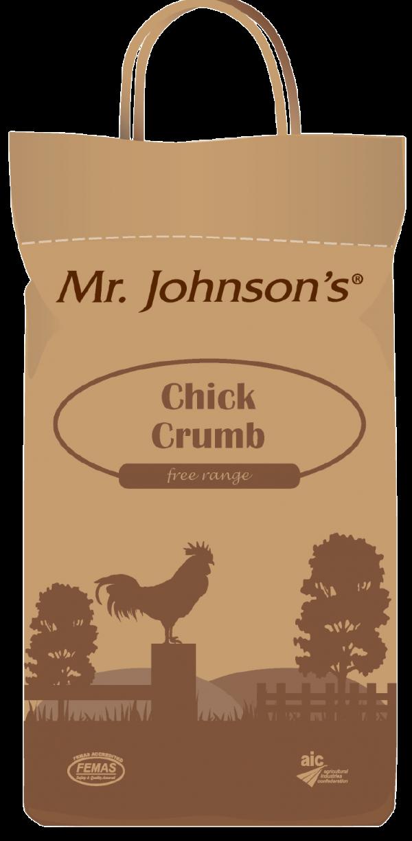 Mr Johnson's Chick Crumb 5kg