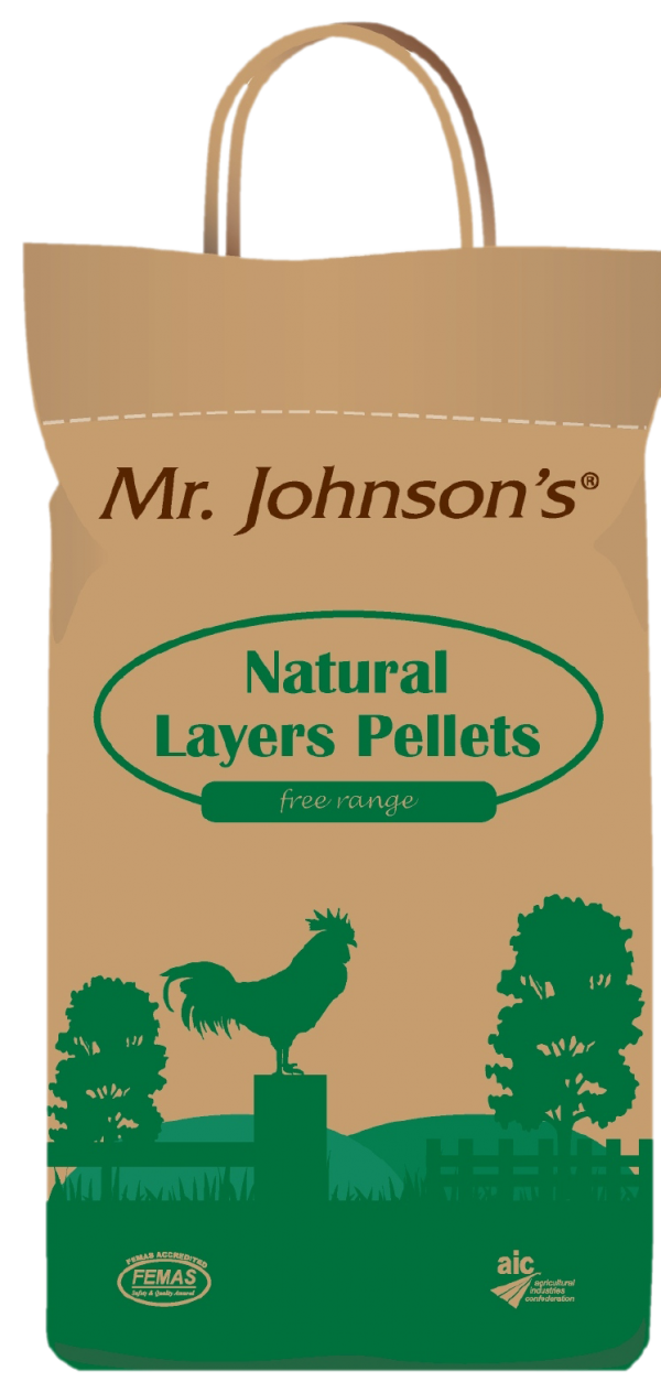 Mr Johnson's Layers Pellets 5kg