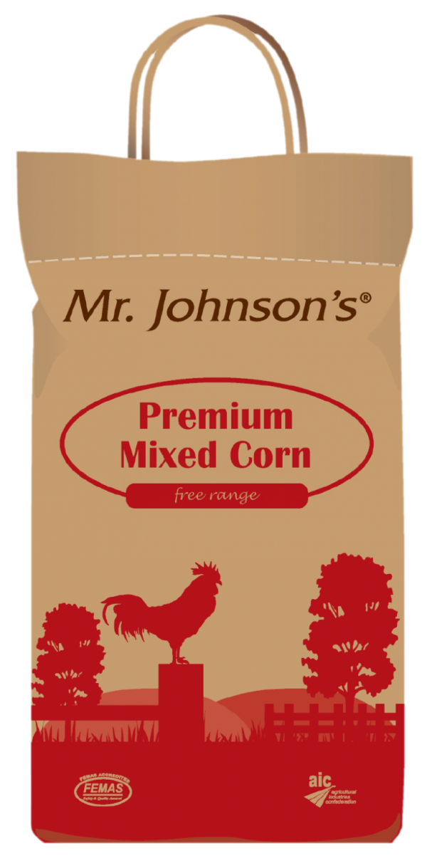 Mr Johnson's Mixed Corn 5kg