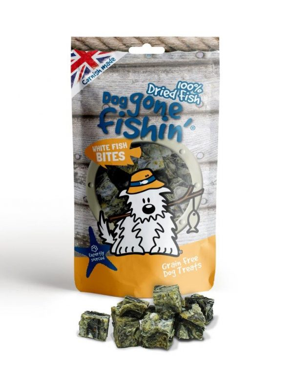 DGF White Fish Bites 75g