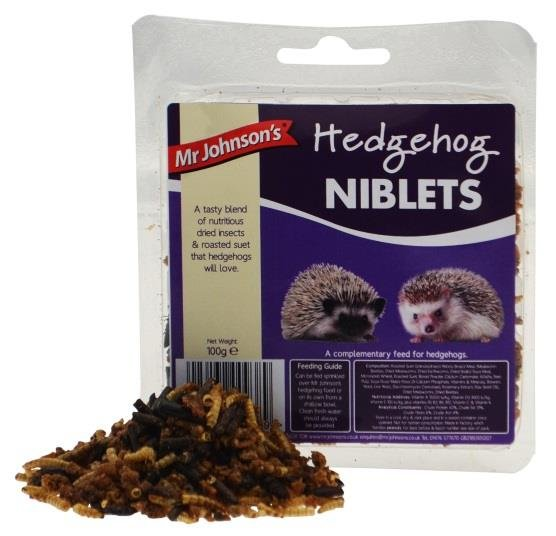 Mr Johnson's Hedgehog Niblets 100g