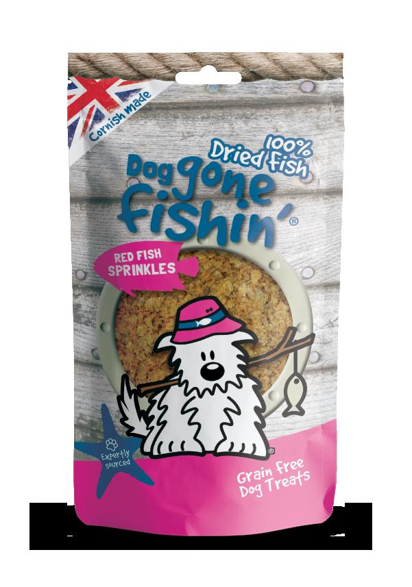 DGF Red Fish Sprinkles 100g